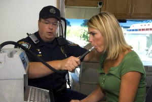 evidentiary breath test